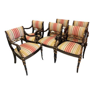 Maitland Smith Regency Chairs -6- For Sale