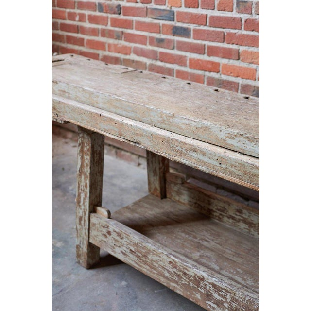 French 19th Century French Etabli Carpenter's Work Bench For Sale - Image 3 of 13