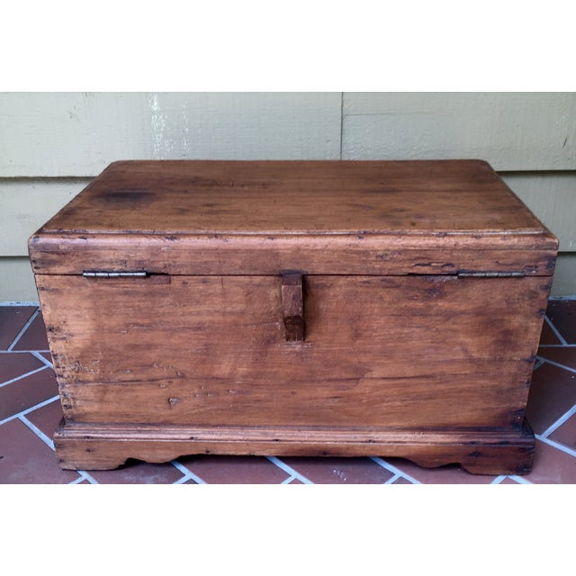 Antique French Trunk - Image 4 of 11