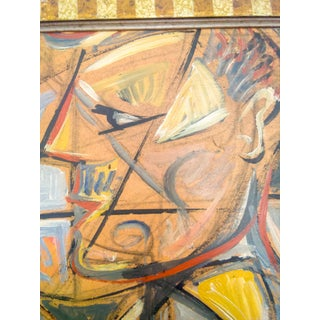 Cubist Portrait of Man and Woman Oil Painting Preview