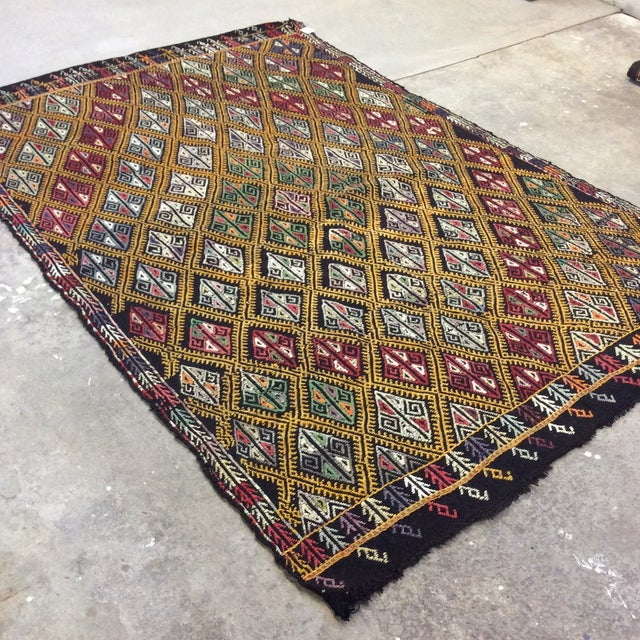 Another great vintage Kilim! Be sure to check all our listings, lots of great Turkish rugs coming your way! I especially...
