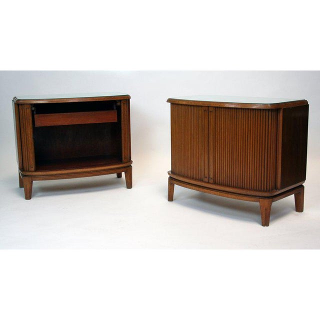 1950's French Nightstands - A Pair For Sale - Image 4 of 4