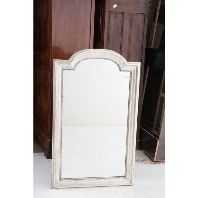 Early 19th Century French 19th Century Louis Philippe Silver Gilt Mirror For Sale - Image 5 of 10