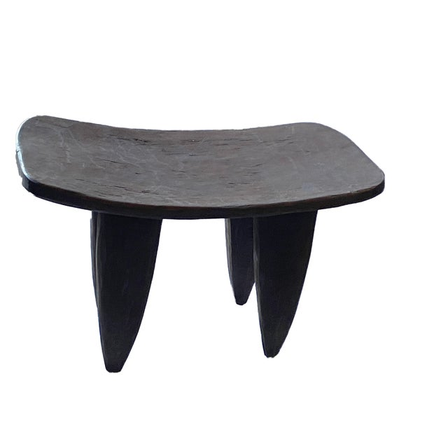 Brown Vintage African Senufo Stool For Sale - Image 8 of 8