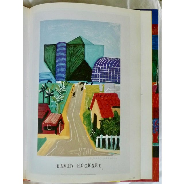 David Hockney: Poster Art Book by Brian Baggot For Sale In New York - Image 6 of 8