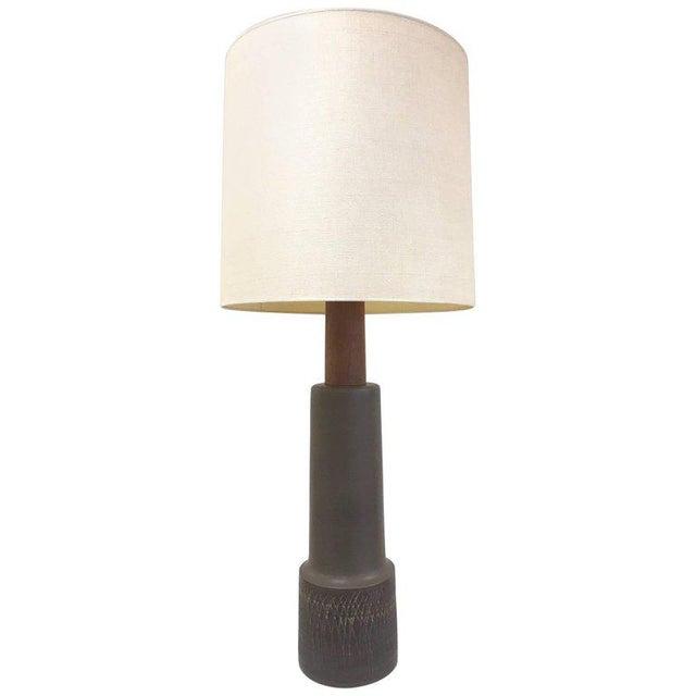Ceramic Tall Gordon Martz Ceramic Lamp For Sale - Image 7 of 7