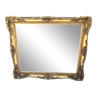 Early 20th Century Gold Leafed French Picture Frame For Sale