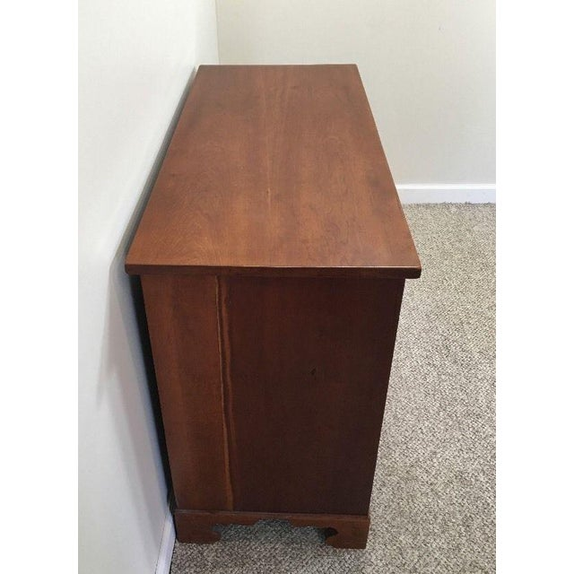 Federal 19th Century Solid Cherry Federal Dresser For Sale - Image 3 of 11