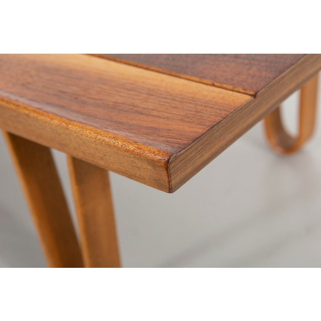 Dunbar Furniture Edward Wormley for Dunbar Long John Bench For Sale - Image 4 of 9