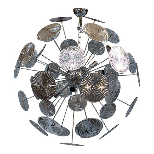 Italian Style Handmade Sputnik Chandelier For Sale