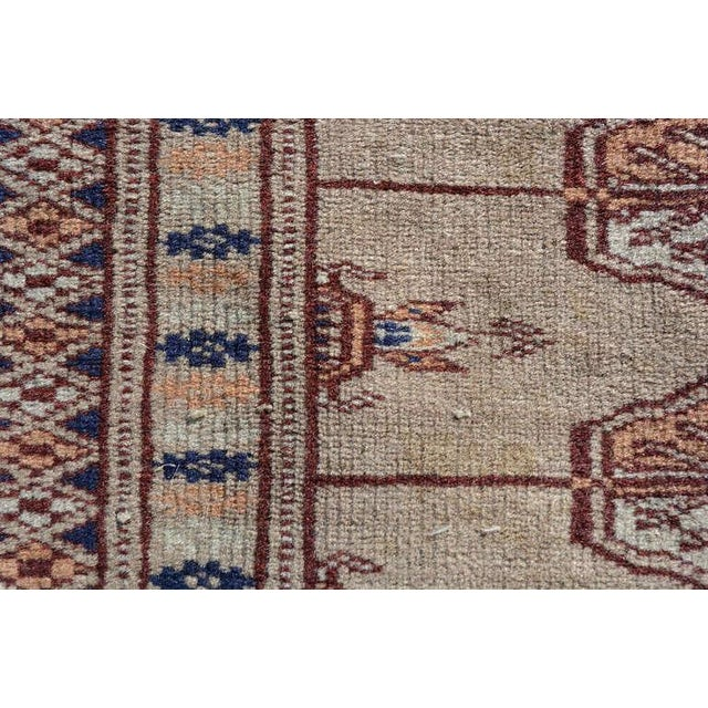 1920s Antique Persian Praying Rug, 1920s For Sale - Image 5 of 7