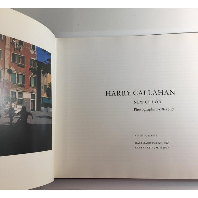 Mid-Century Modern 1988 Harry Callahan New Color Book For Sale - Image 3 of 12