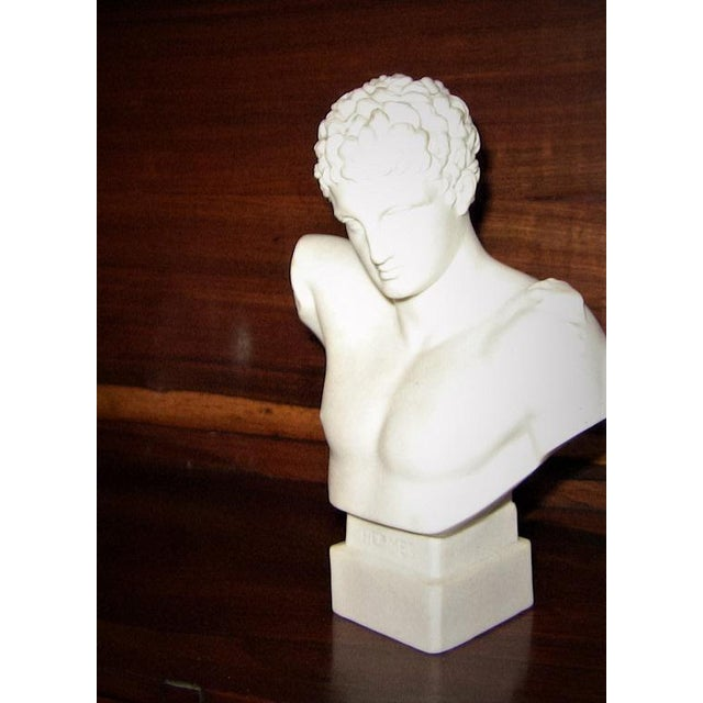 19c Hermes Parian Ware Bust For Sale - Image 4 of 9