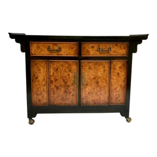 Asian Style Bar by Bernhardt For Sale