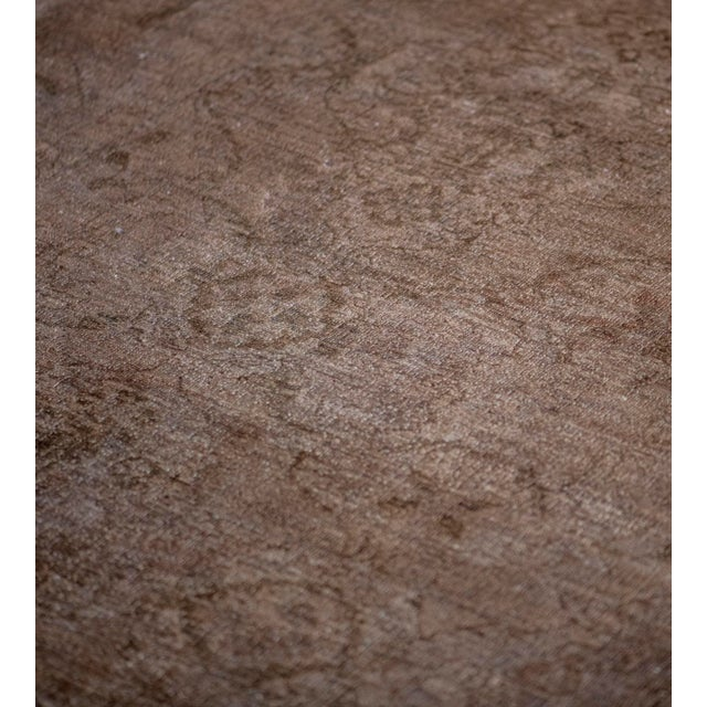 2010s Handwoven Wool Agra Style Rug For Sale - Image 5 of 8