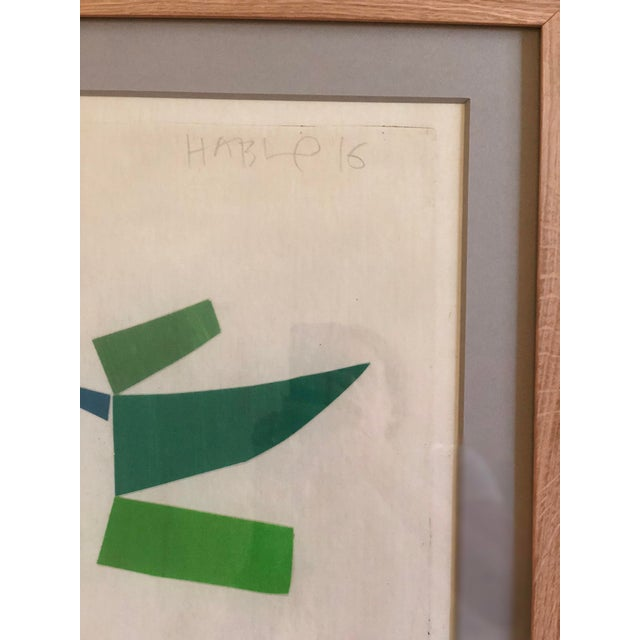 Abstract Susan Hable Collages - A Pair For Sale - Image 3 of 9