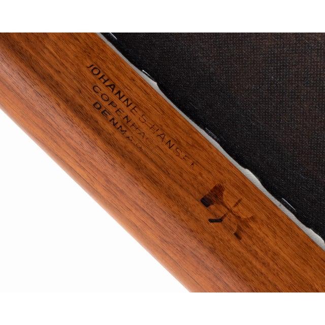 Wood Vintage Danish Modern Teak Jh 503 Chair by Hans Wegner For Sale - Image 7 of 8