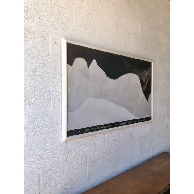 Rare and Out-Of-Print, Milton Avery 'Reclining Blonde' 1959 Williams College Museum of Art Framed Lithograph Print...