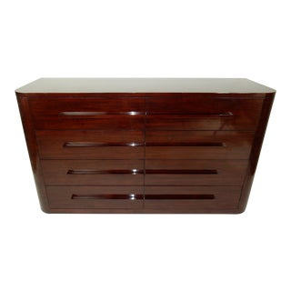 Mid Century Modern Ralph Lauren Rosewood Dresser For Sale
