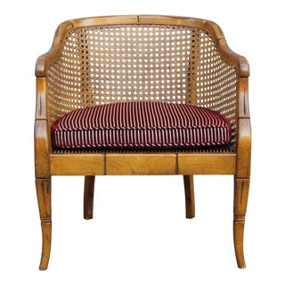 1960's Vintage Campaign Armchair For Sale