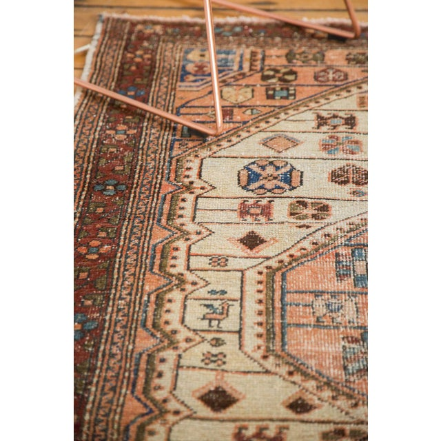 "Vintage Distressed Malayer Rug - 4'4"" x 6'3"" - Image 10 of 11"