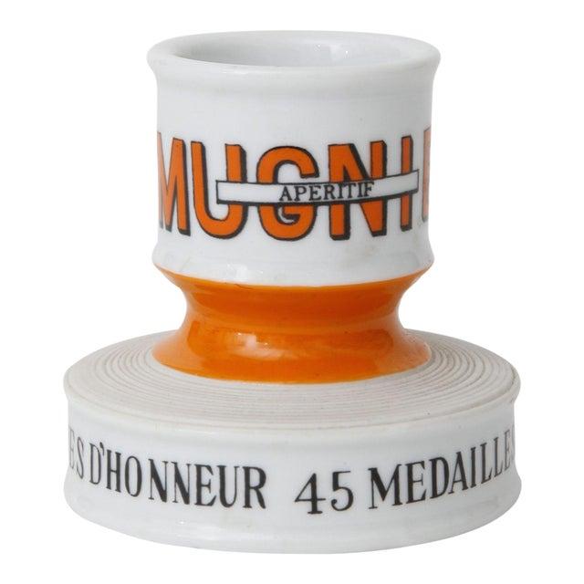 Vintage French Mugnier Orange Match Striker - Image 1 of 3
