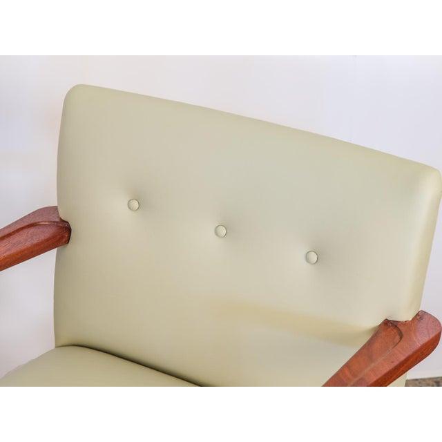 Jens Risom Model 108 Walnut Side Chairs - Image 6 of 11