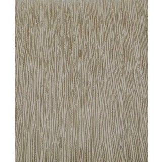 Neutral Abstract Wood Grain Wallcovering For Sale
