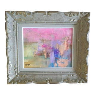 George Abstract Framed Painting For Sale