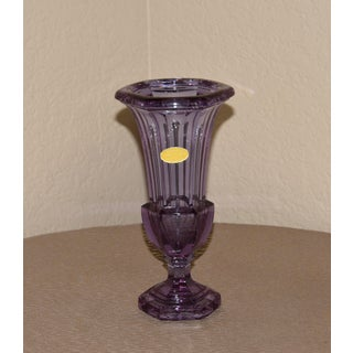 Art Deco Alexandrite Trumpet Art Glass Vase Preview