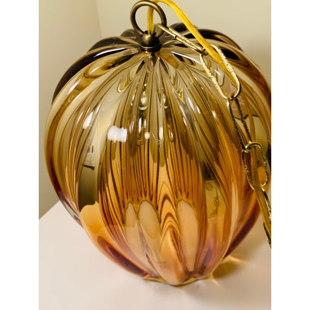 Contemporary 1960s Camer Murano Glass Chandelier For Sale - Image 3 of 6
