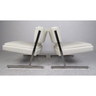 Pair of Mid-Century Harvey Probber Slipper Chairs Preview