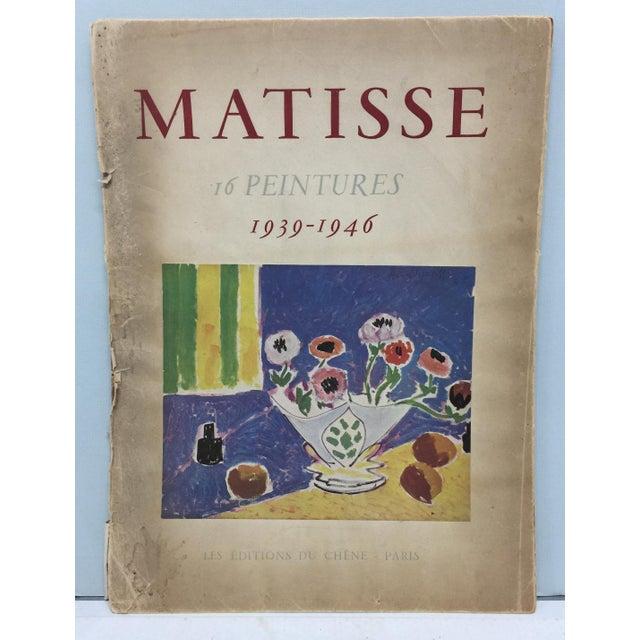 1943 Matisse Portfolio Lithographic Prints Book For Sale - Image 13 of 13