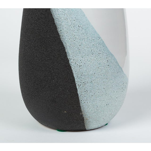 Glazed Ceramic Vase by Ettore Sottsass for Bitossi For Sale - Image 10 of 12