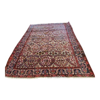 Mid 20th Century Persian Rug-7′8″ × 8′11″ For Sale