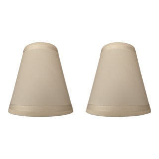 Restoration Hardware Sconce Shades - a Pair For Sale