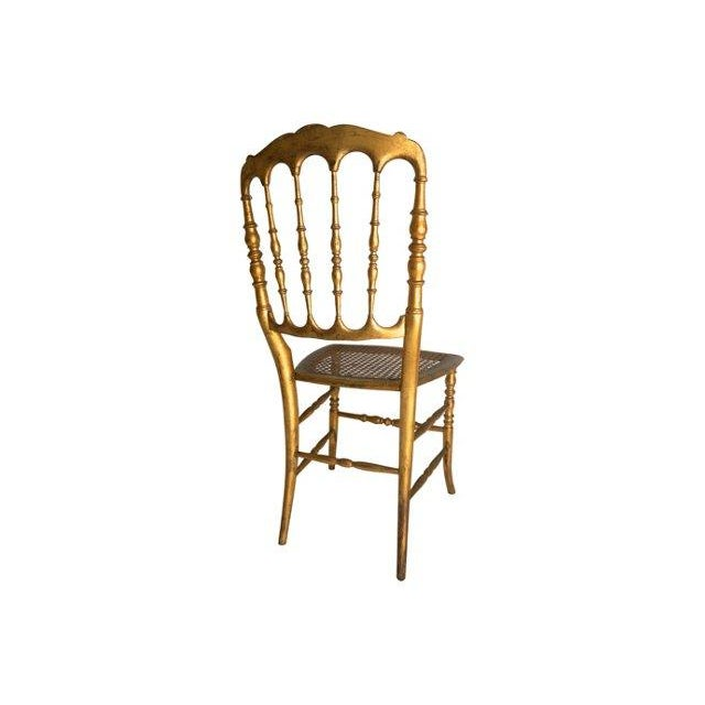 Vintage Chiavari Style Gold Chair - Image 5 of 5