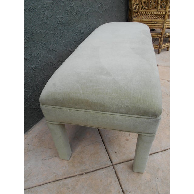 Upholstered Parsons Bench - Image 5 of 7