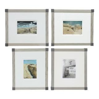 1990s Southwest New Mexico Landscape Prints by Nancy Keller, Framed - Set of 4 For Sale