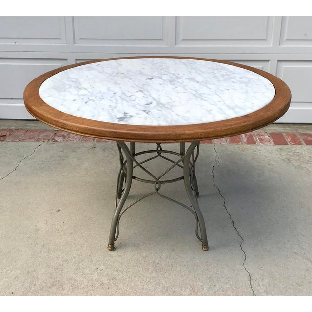 Vintage Italian Marble Table - Image 5 of 5
