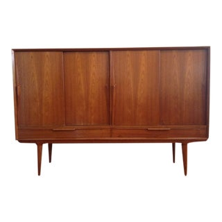 Danish Modern Omann Jun Møbelfabrik Teak Sideboard For Sale