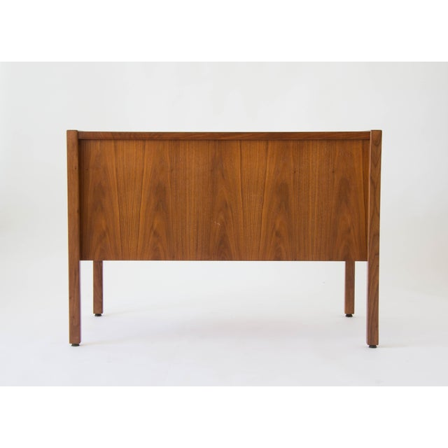Jens Risom Compact Walnut Credenza - Image 6 of 8