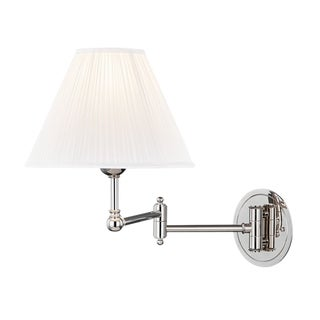 Signature No.1 1 Light Adjustable Wall Sconce - PN For Sale