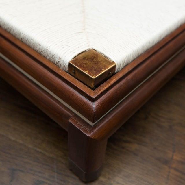 Renzo Rutili Renzo Rutili for Johnson Furniture Mid-Century Cabinet Bench For Sale - Image 4 of 10