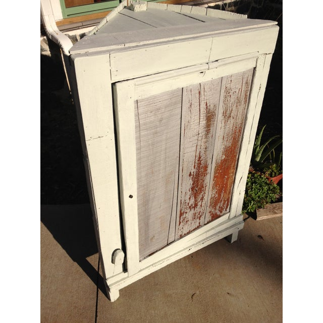 Primitive 1935 Depression Crate Kitchen Corner Cabinet ...