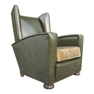 1950s Mid-Century Art Deco Club/Lounge Chair For Sale