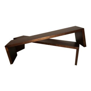 Late 20th Century Coffee Tables / Benches - a Pair For Sale