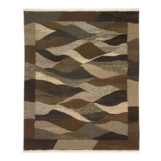 Rug & Relic Organic Modern Kilim | 3 X 4 Fair Trade Turkish Kilim For Sale