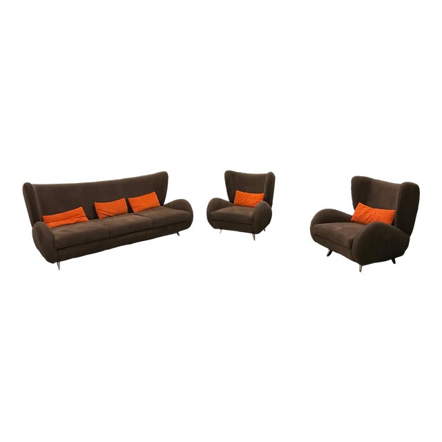Contemporary Collection - Fiftyish by Vladimir Kagan - Set of 3 - Image 1 of 10