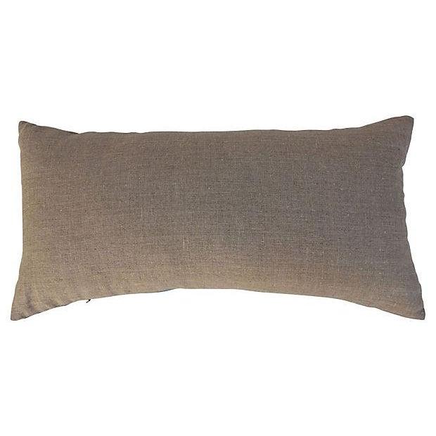 Faded Indigo Batik Body Pillow - Image 3 of 6